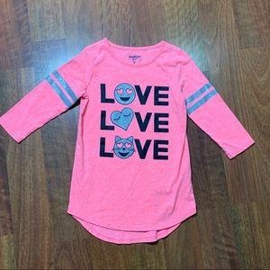 Oshkosh girls tunic shirt size 8